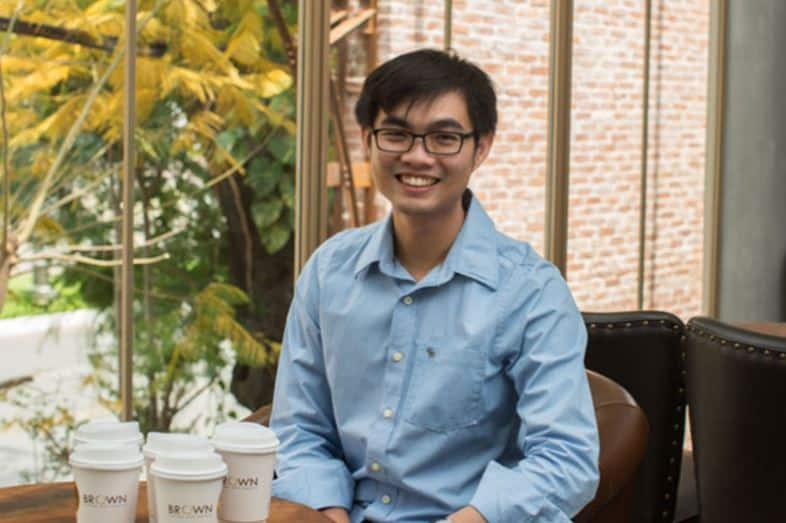 Chang Bunleang - co-founder of brown cafe