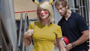 បុរសម្នាក់ត្រូវបានគេថតជាប់ ពេលសម្លឹងតារាចម្រៀង Taylor Swift